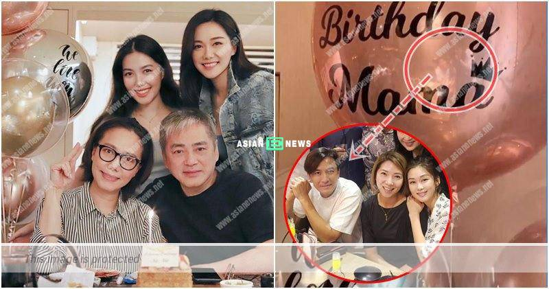 Kenneth Ma celebrates the birthday of Roxanne Tong's mother together?