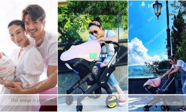 Dragon Boat Festival: Tavia Yeung takes her daughter out to enjoy beautiful weather