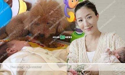 "Tavia Yeung treats her daughter and dogs as ""treasures"" at home"