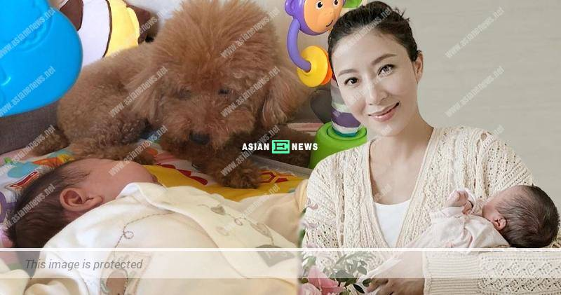 """Tavia Yeung treats her daughter and dogs as """"treasures"""" at home"""