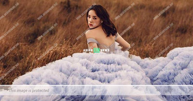 Zoie Tam shows her wedding photo shoot and resembles a fairy