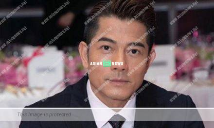 Aaron Kwok drives an expensive car when going for massage