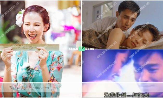 Ada Choi recalled about her kissing scene with Tony Leung