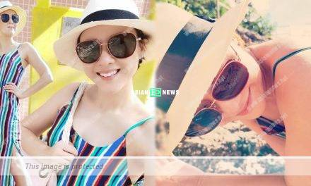 Aimee Chan goes to the beach: I am perspiring