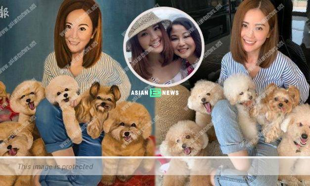 Charlene Choi praises her mother has excellent drawing skills