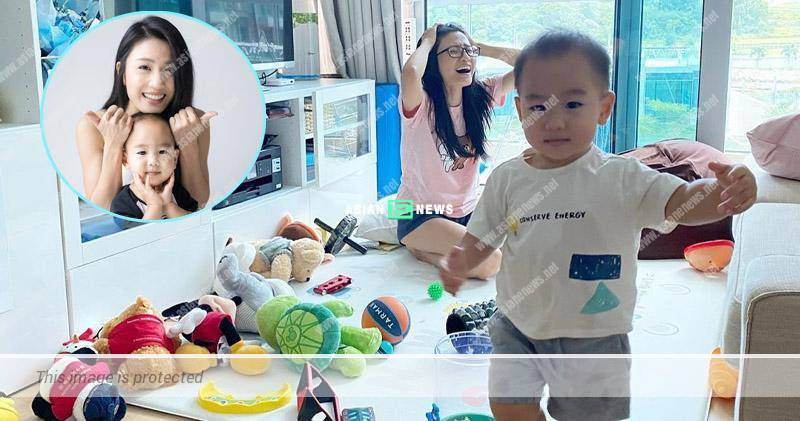 Coffee Lam finds it torturing when her son makes the house dirty
