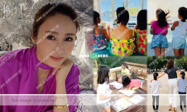 Emotional Gigi Lai admits her fear when her daughters are growing up