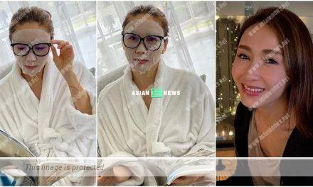 Gigi Lai pointed applying facial mask is similar to drinking a bowl of soup