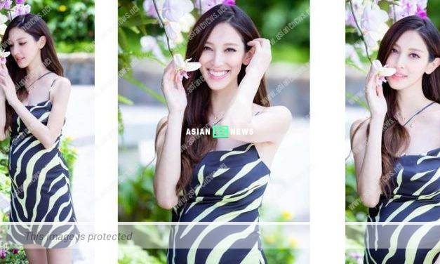 Expecting Grace Chan shows her beautiful photos and cherishes every moment