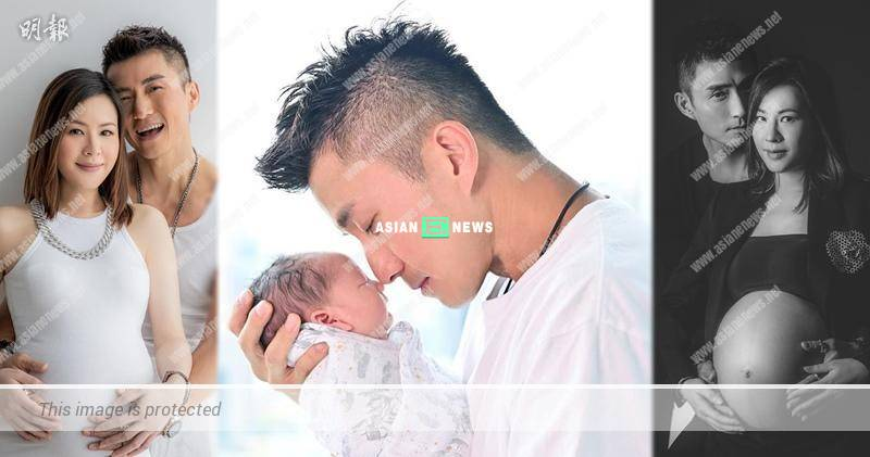 Joel Chan's wife has given birth to a baby boy