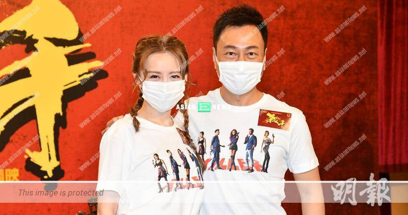Wayne Lai will be playing a Thai boxer in new drama; Katy Kung looks forward to see his muscles again