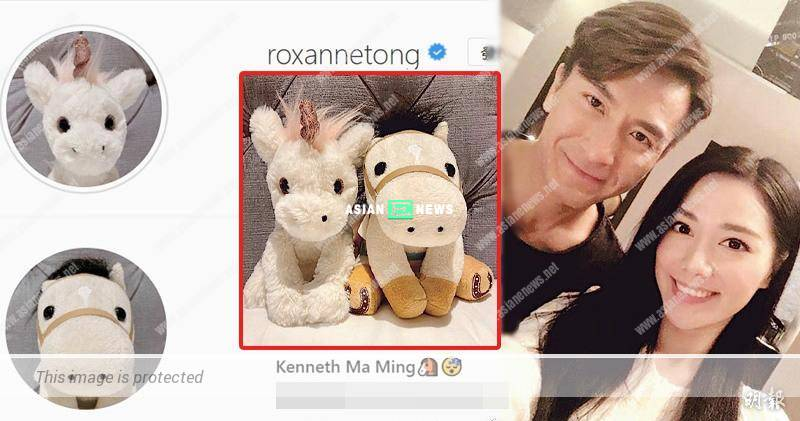 Kenneth Ma and Roxanne Tong show their love in the air