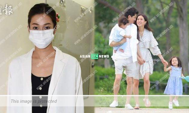 Linda Chung films TVB drama again after 4 years later