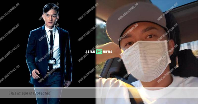 Matt Yeung plays a cop in new film; He urges everyone to stay united