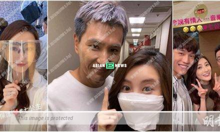 Rosina Lam praises Ruco Chan: He looks old yet handsome