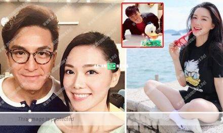 Roxanne Tong shows her love for Kenneth Ma in the air