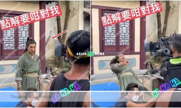 Ruco Chan is hit during the shooting: Why are you treating me this way?