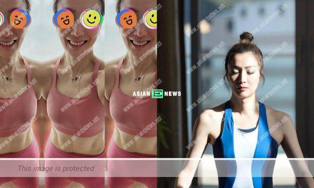Sammi Cheng shares an important knowledge about keeping fit