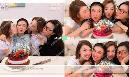 Roxanne Tong prepares a birthday party for Tracy Chu