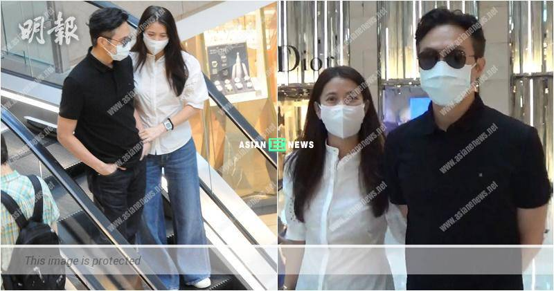 Julian Cheung and Anita Yuen go for shopping without their son