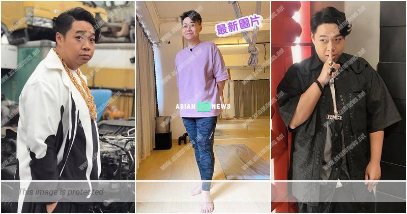 Angle problem? Anthony Ho loses weight successfully