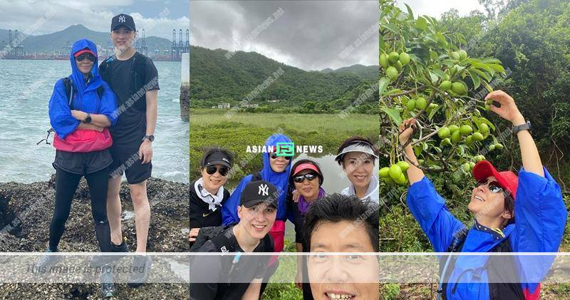 Netizen reminds Carina Lau to wear a face mask in public places