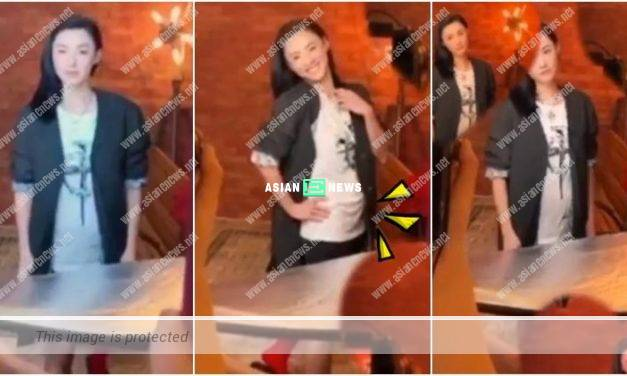 Cecilia Cheung has a bigger belly? Is she pregnant again?