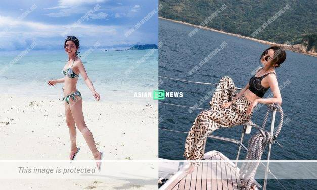 Charlene Choi gains weight within 2 days?