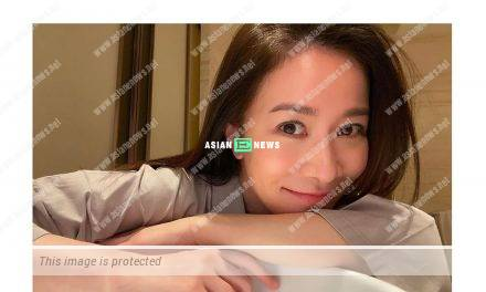Charmaine Sheh's beautiful photo won compliments from the netizens