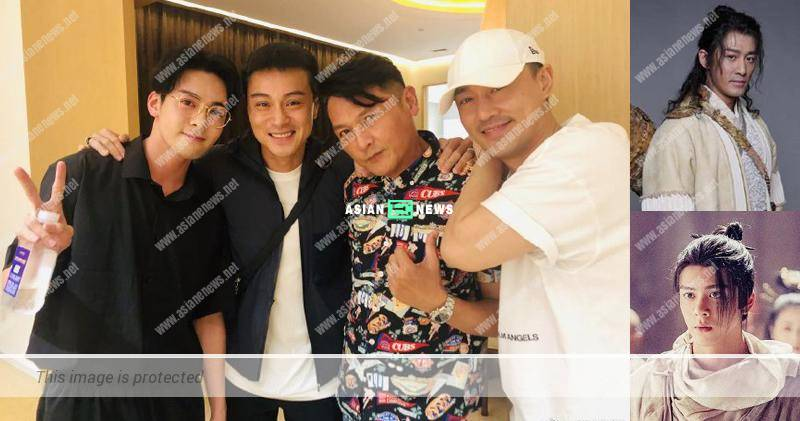 Eddie Kwan praises Raymond Lam and Joseph Zeng are handsome men