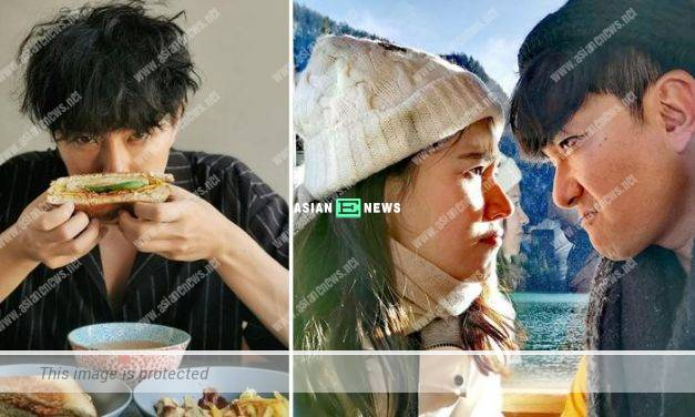 Edwin Siu prepares delicious food for his wife Priscilla Wong