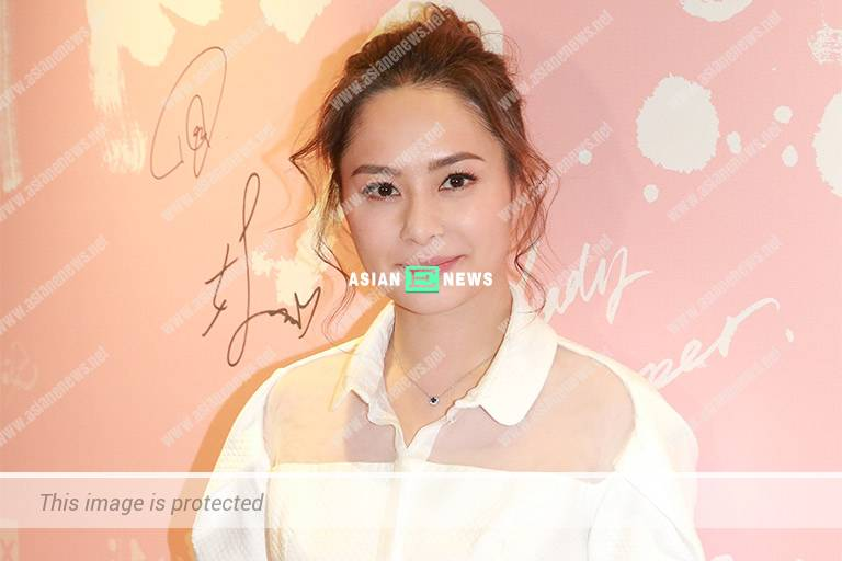 Gillian Chung's new hairstyle wins compliments from the netizens