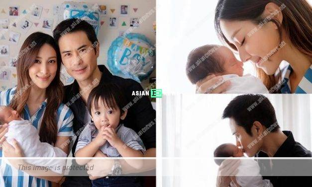 Congratulations! Grace Chan gives birth to her second son named Yannick