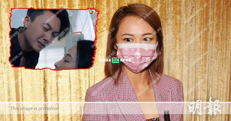 Kathy Yuen pointed Vincent Wong has real mucus during the shooting