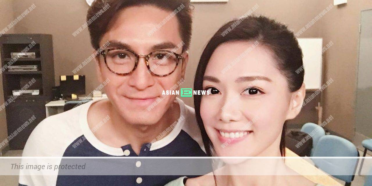 Kenneth Ma shows his love for Roxanne Tong in the air