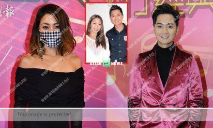 Lesley Chiang does not feel embarrassed to see her old love Fred Cheng
