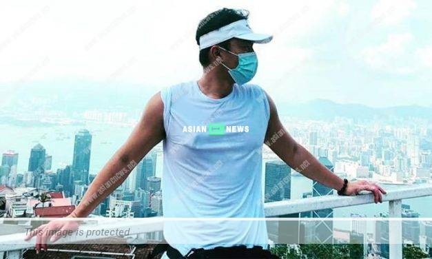 Matt Yeung finally shows his new photo: I will continue to walk slowly