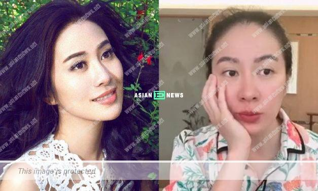 Hong Kong actress Michelle Ye asks if she can have the leftover food by other customers