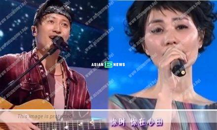 Telepathy? Nicholas Tse sings the same song as Faye Wong