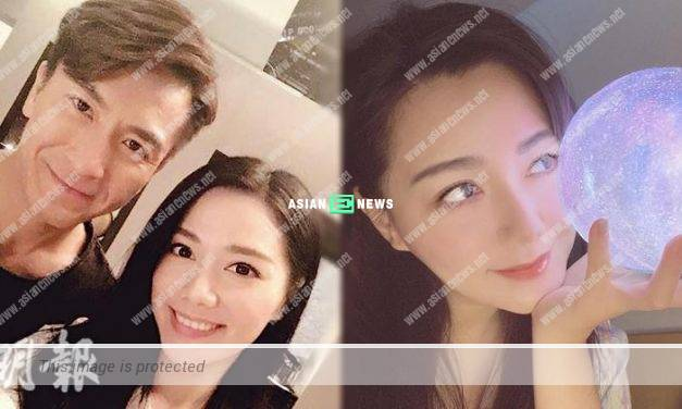 Roxanne Tong shows her photo; Kenneth Ma gives love emoji