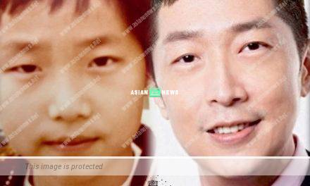 Steven Ma pointed his double eyelids become obvious upon growing older