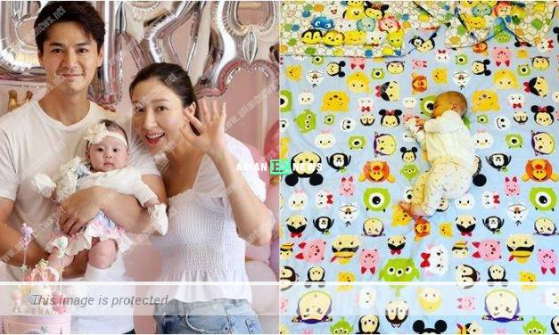 Too fast? Tavia Yeung prepares a big bed for her daughter