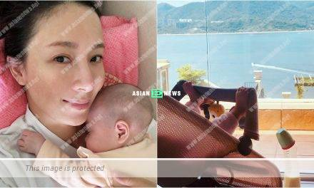 Tavia Yeung thinks of new method to make her daughter to drink milk