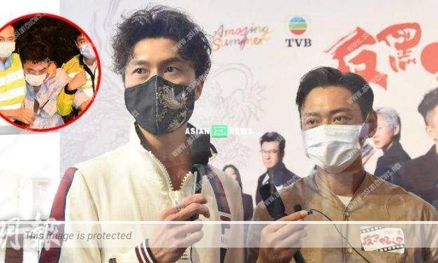 Matt Yeung is arrested for drink driving; Vincent Wong hopes he is safe