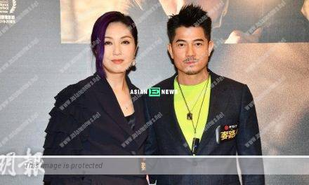i'm livin' it Film: Aaron Kwok exposes his wife Moka Fang cries when watching it