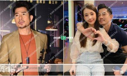 Going through special training? Aaron Kwok defends his wife Moka Fang
