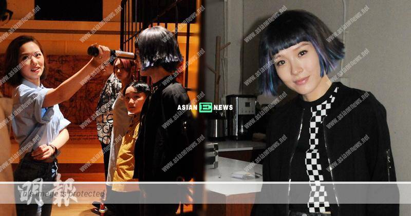 Ali Lee takes the risk to wear coloured contact lenses in TVB new drama