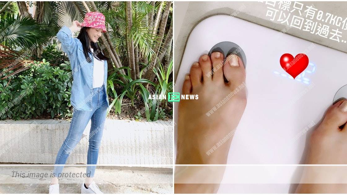 Anjaylia Chan regains her body figure quickly after her second pregnancy
