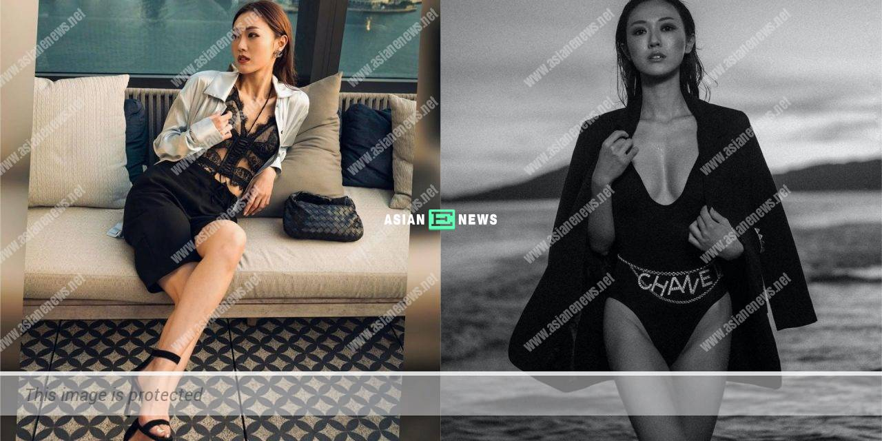 Bowie Cheung shows her beautiful photos: I will remember it