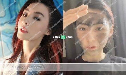 Cecilia Cheung looks young because of applying mask?